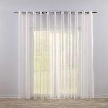 Záclona voálová jednoduchá na kroužcích na míru 300x260cm v kolekci Voile - Voál, látka: 901-01