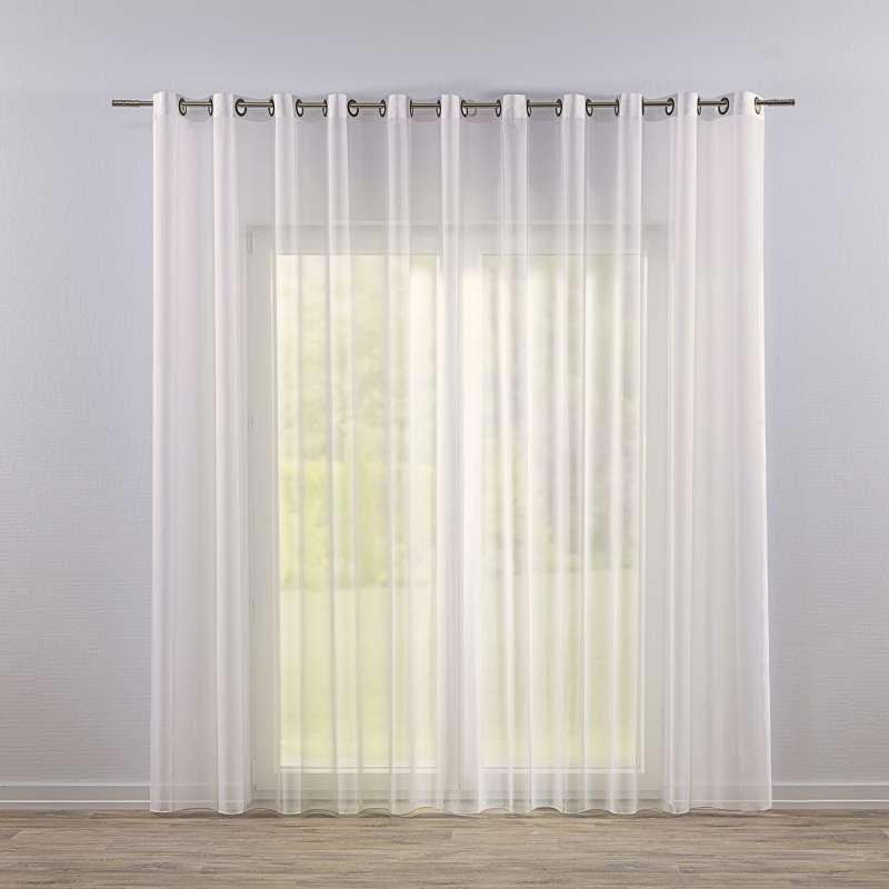Záclona z voálu na kolieskach V kolekcii Voálové záclony, tkanina: 901-01