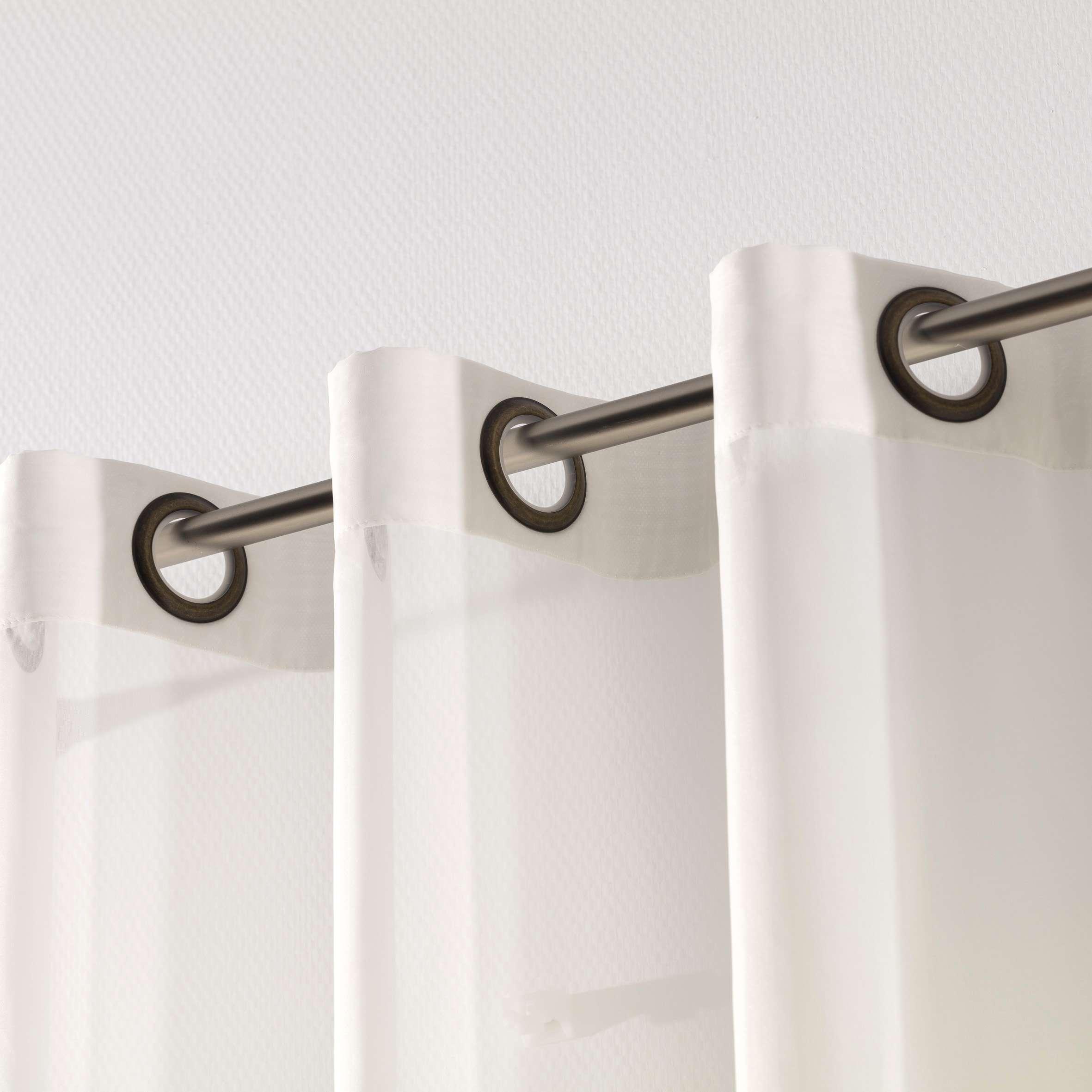 gardine mit sen ecru 300x260cm dekoria. Black Bedroom Furniture Sets. Home Design Ideas