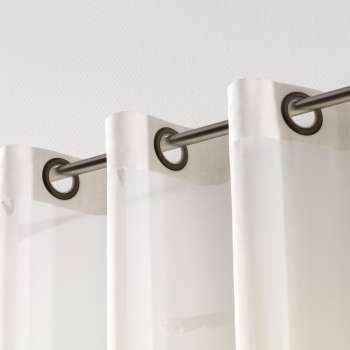 Záclona voálová jednoduchá na kroužcích na míru v kolekci Voile - Voál, látka: 901-01