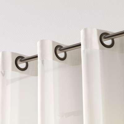Záclona z voálu na kolieskach 901-01 krémová, s olovkom  Kolekcia Voálové záclony