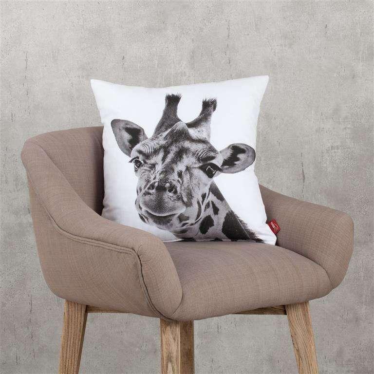 Deko-Kissenhülle Giraffe 45x45cm 45x45cm