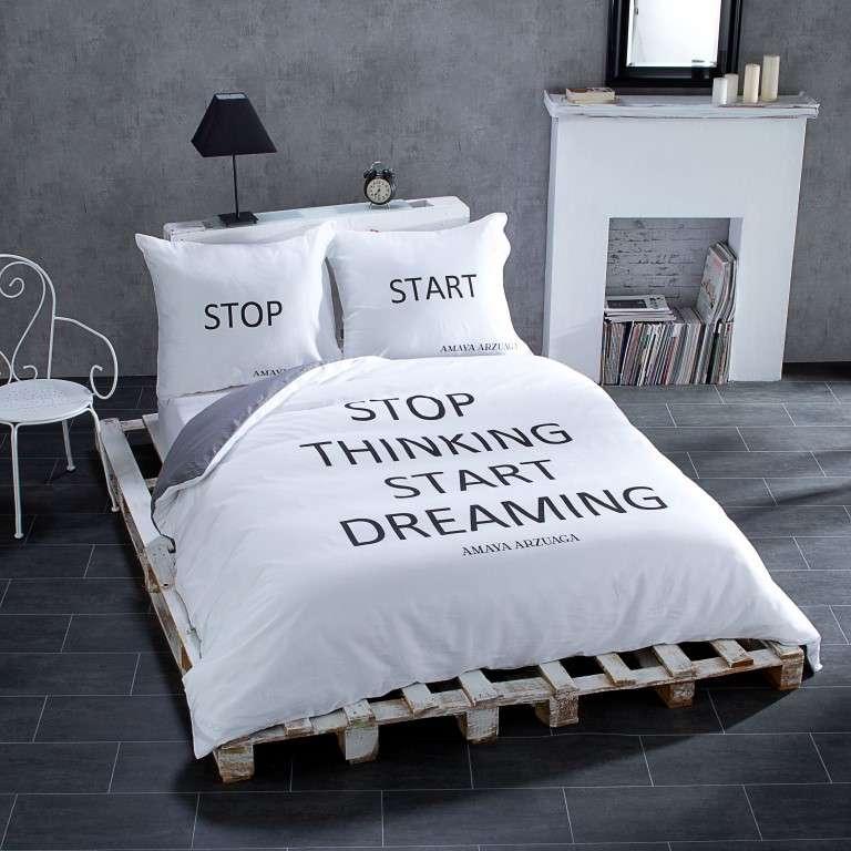Obliečky na posteľ Start&Stop