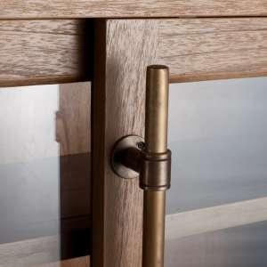 Vitrine Chantal mit 6 Schubladen 115x40x158cm