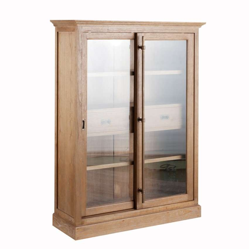 vitrine chantal mit 2 schubladen 115x40x158cm dekoria. Black Bedroom Furniture Sets. Home Design Ideas