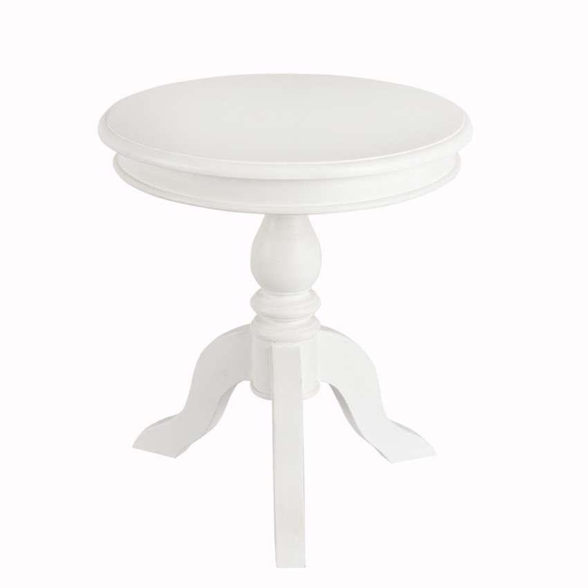 Tisch Lara weiss o50cm