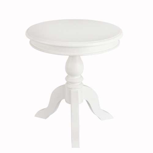 Stolik Lara śr. 50cm biały