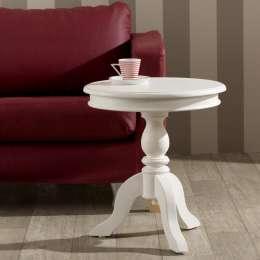 Stół Lara śr. 50cm biały