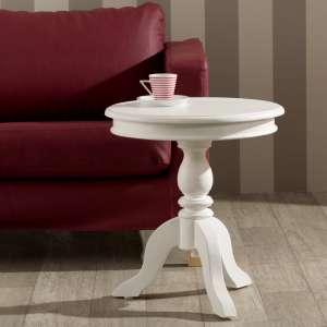 Stolik Lara śr. 50cm biały 50x56cm