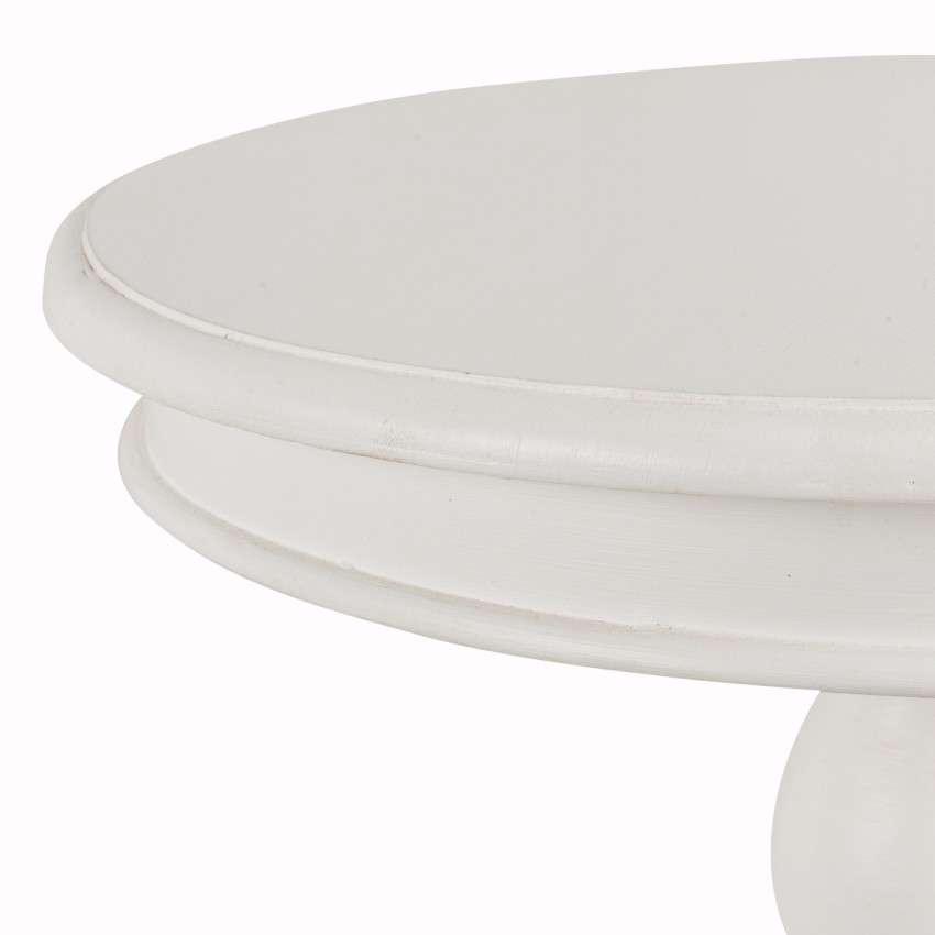 Stół Lara śr. 50cm biały 50x56cm