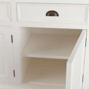 Kommode Brighton mit 3 Schubladen + 3 Türen 181x56x96cm