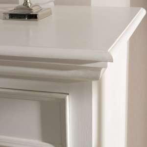 Komoda Brighton 3 szuflady + 3 drzwi white 181x56x96cm