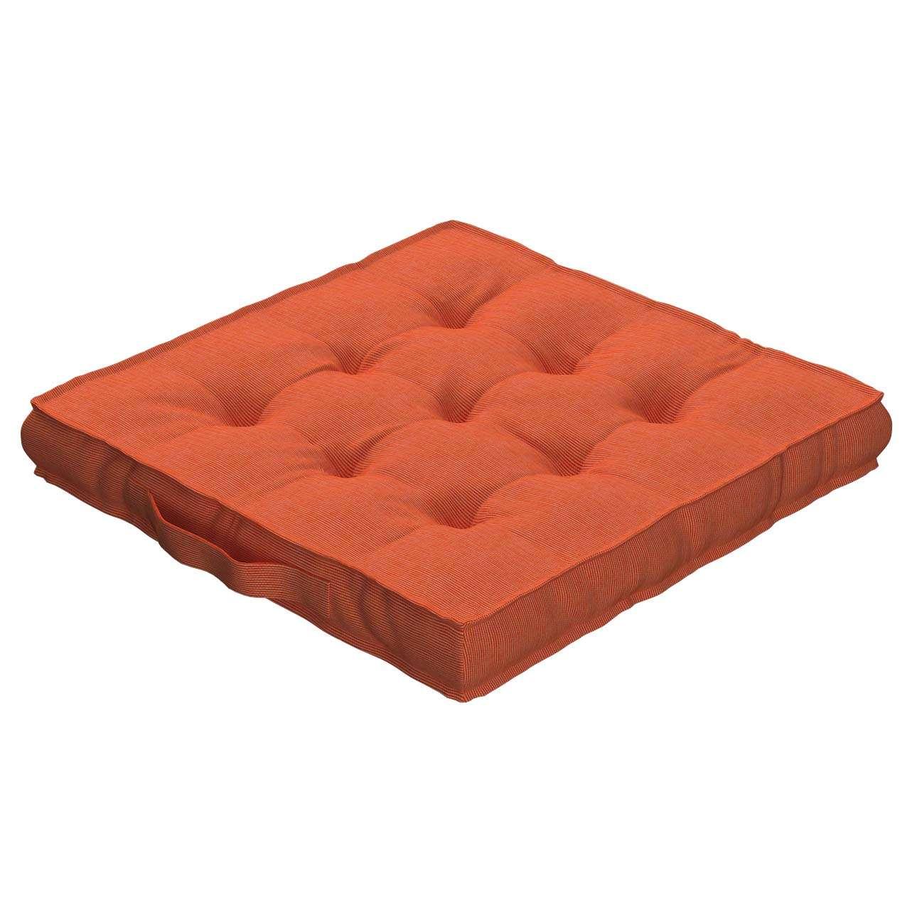 Pagalvėlė Kuba kėdei/ant grindų 40 x 40 x 6 cm kolekcijoje Jupiter, audinys: 127-35
