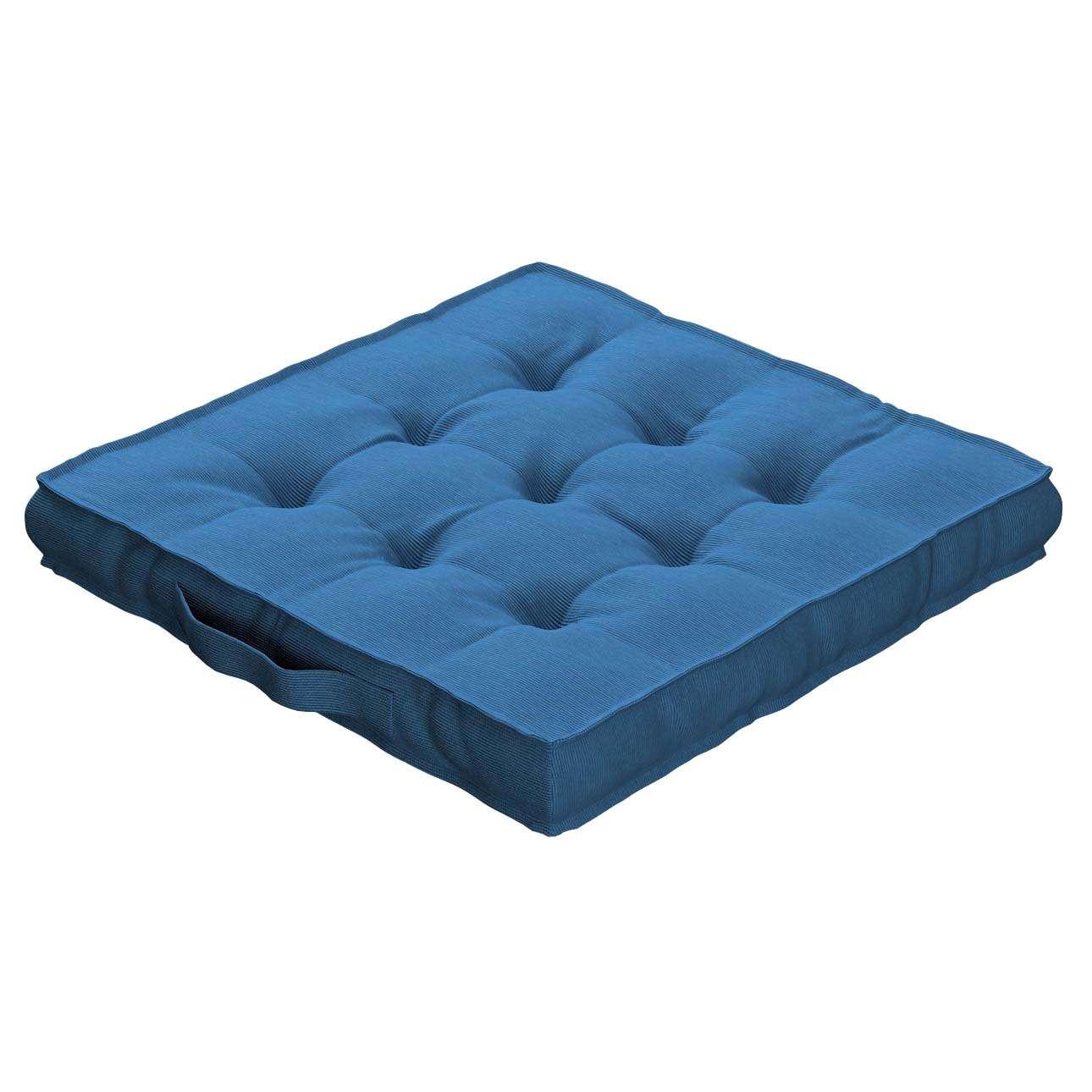 Siedzisko Kuba na krzesło 40x40x6cm w kolekcji Jupiter, tkanina: 127-61