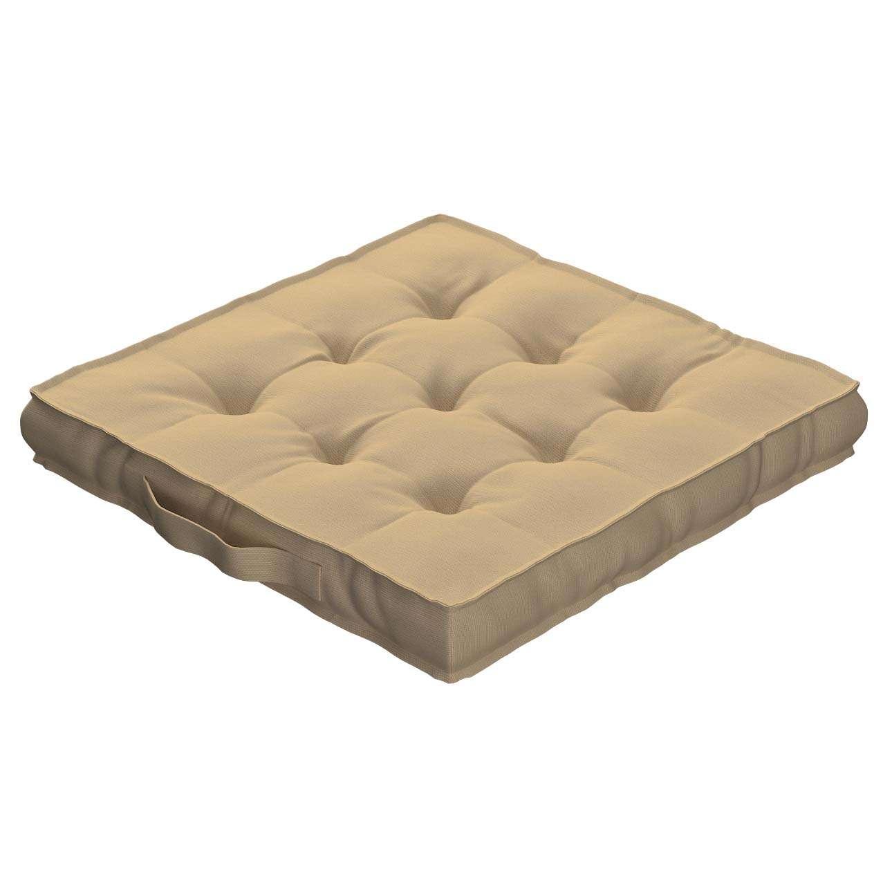 Siedzisko Kuba na krzesło 40x40x6cm w kolekcji Cotton Panama, tkanina: 702-01