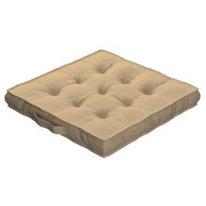 Sitzkissen Jacob mit Handgriff 40 x 40 x 6 cm von der Kollektion Cotton Panama, Stoff: 702-01