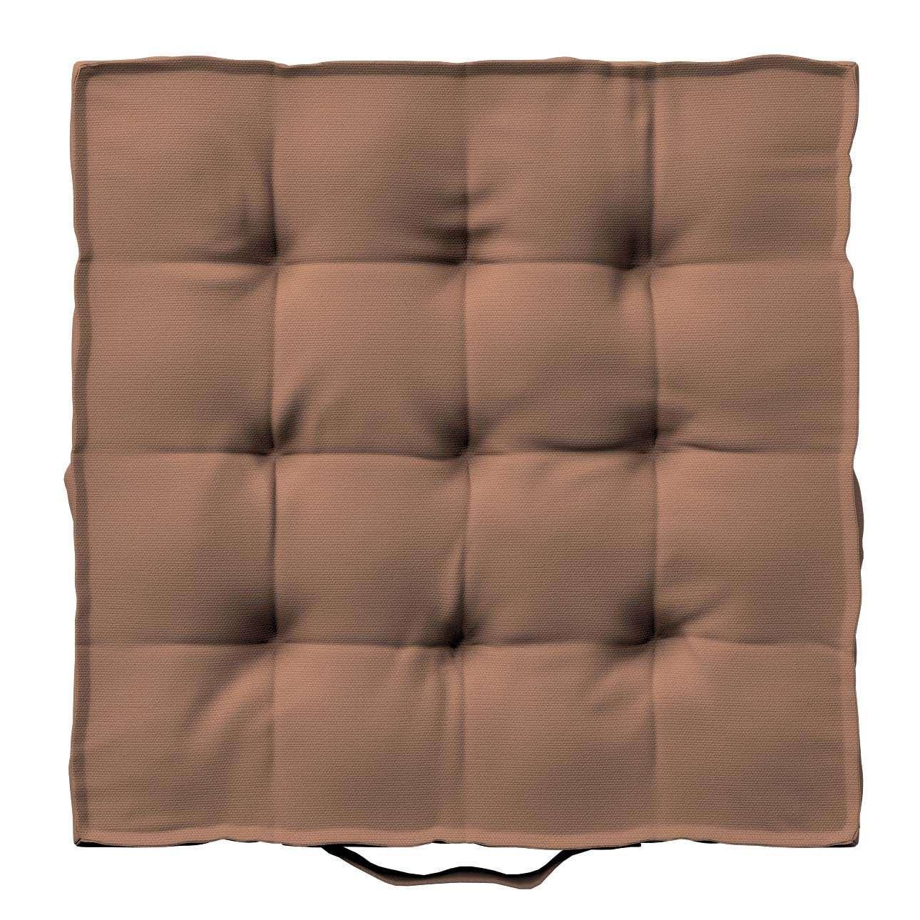 Pagalvėlė Kuba kėdei/ant grindų 40 x 40 x 6 cm kolekcijoje Cotton Panama, audinys: 702-02