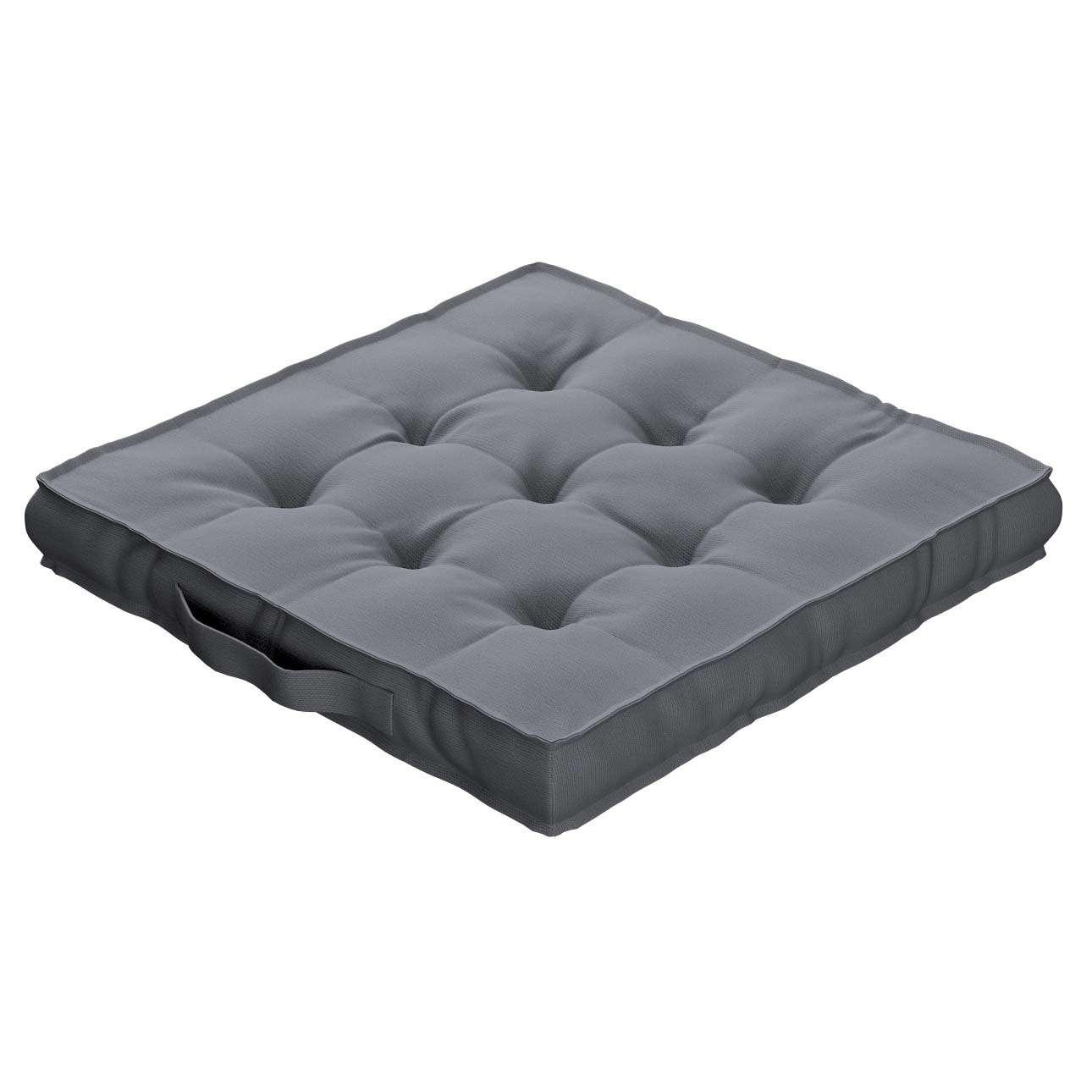 Pagalvėlė Kuba kėdei/ant grindų 40 x 40 x 6 cm kolekcijoje Cotton Panama, audinys: 702-07