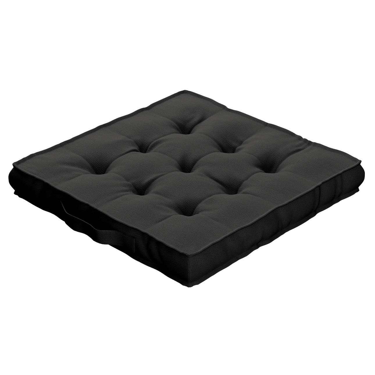 Pagalvėlė Kuba kėdei/ant grindų 40 x 40 x 6 cm kolekcijoje Cotton Panama, audinys: 702-08