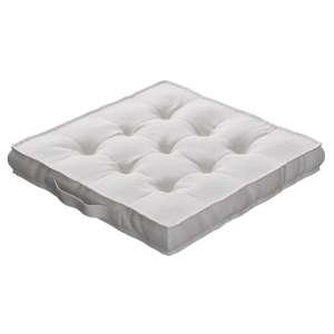 Siedzisko Kuba na krzesło 40x40x6cm w kolekcji Linen, tkanina: 392-04