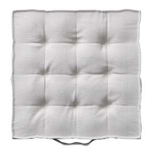 Pagalvėlė Kuba kėdei/ant grindų 40 x 40 x 6 cm kolekcijoje Linen , audinys: 392-04