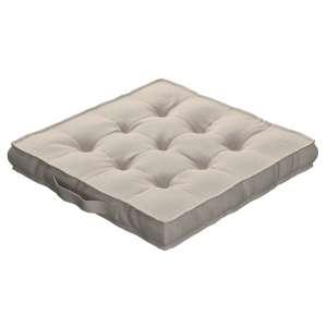 Siedzisko Kuba na krzesło 40x40x6cm w kolekcji Linen, tkanina: 392-05