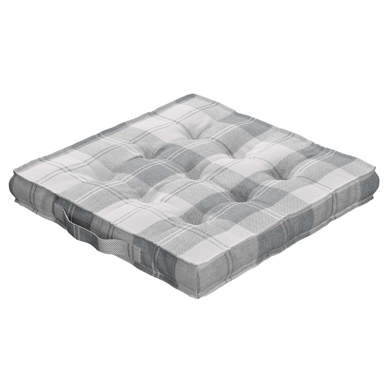 Pagalvėlė Kuba kėdei/ant grindų 40 x 40 x 6 cm kolekcijoje Edinburgh , audinys: 115-79