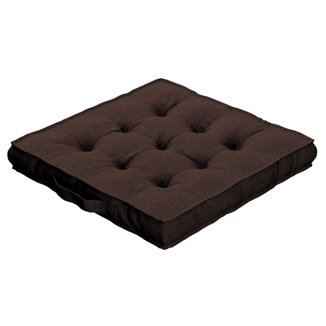 Pagalvėlė Kuba kėdei/ant grindų kolekcijoje Chenille, audinys: 702-18