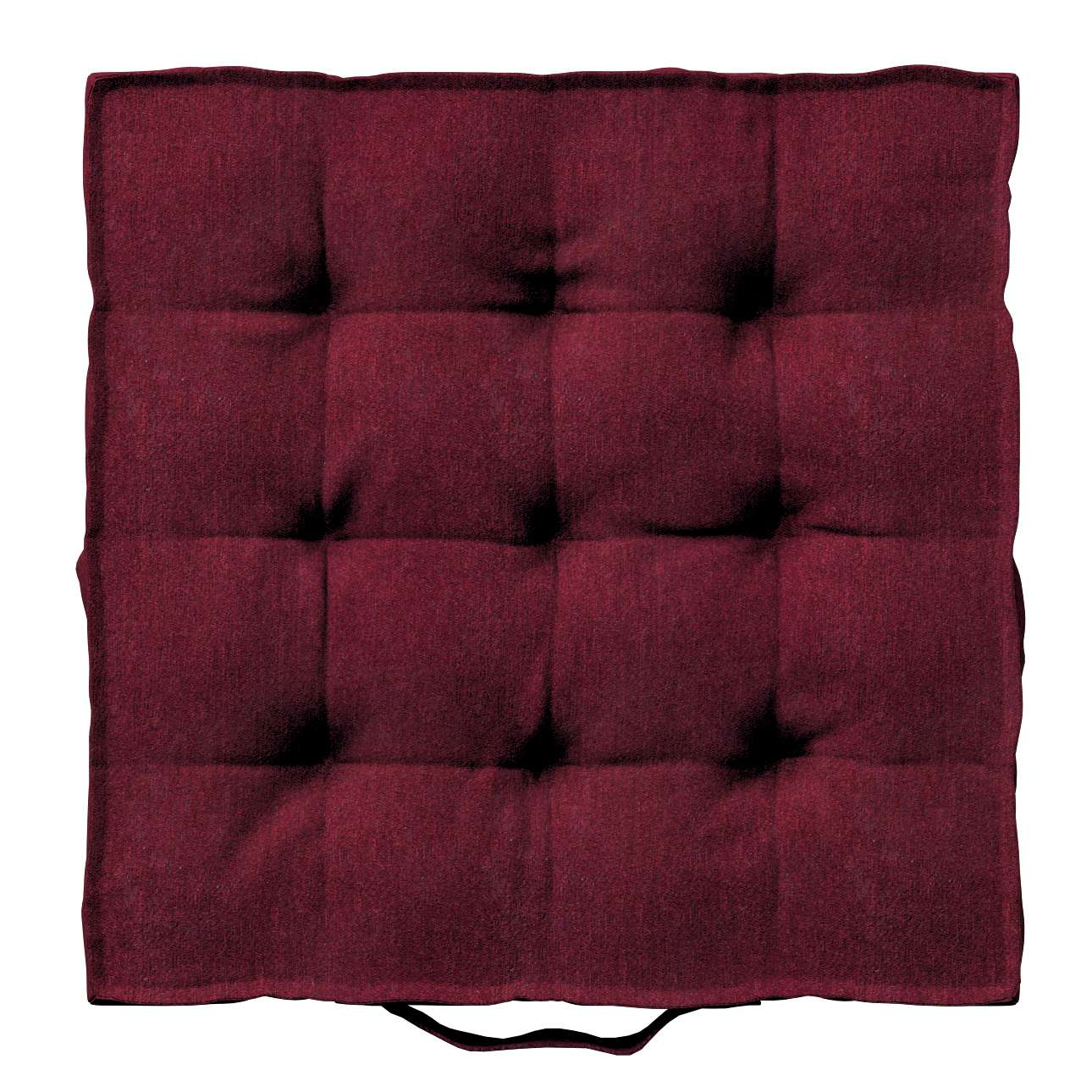 Pagalvėlė Kuba kėdei/ant grindų 40 x 40 x 6 cm kolekcijoje Chenille, audinys: 702-19