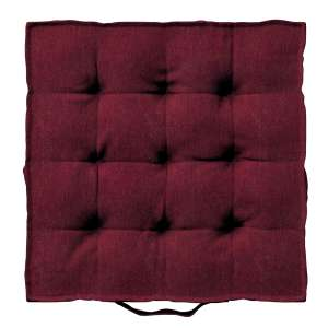 Siedzisko Kuba na krzesło 40x40x6cm w kolekcji Chenille, tkanina: 702-19