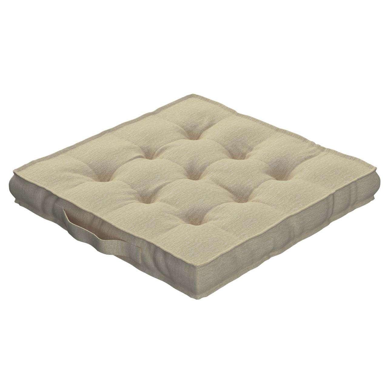 Pagalvėlė Kuba kėdei/ant grindų 40 x 40 x 6 cm kolekcijoje Chenille, audinys: 702-22