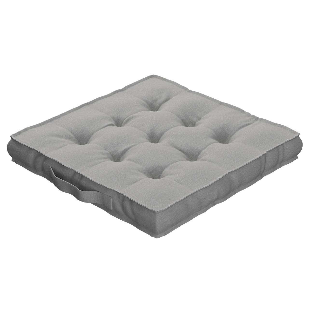 Pagalvėlė Kuba kėdei/ant grindų 40 x 40 x 6 cm kolekcijoje Chenille, audinys: 702-23