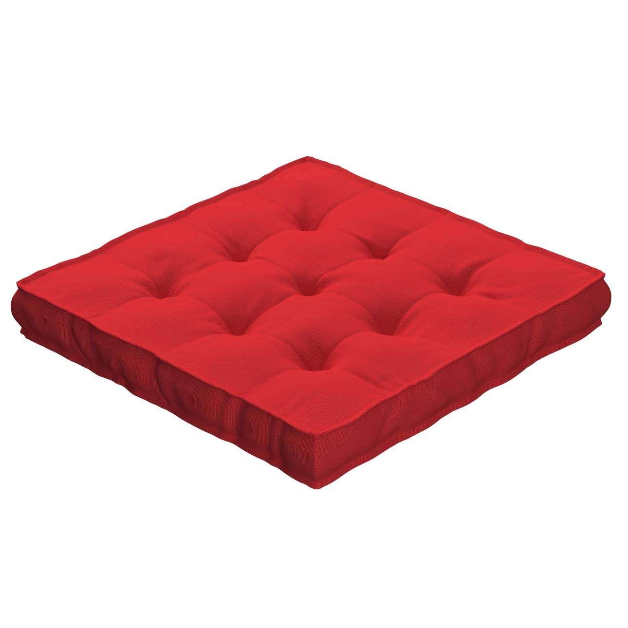 Pagalvėlė Kuba kėdei/ant grindų 40 x 40 x 6 cm kolekcijoje Loneta , audinys: 133-43