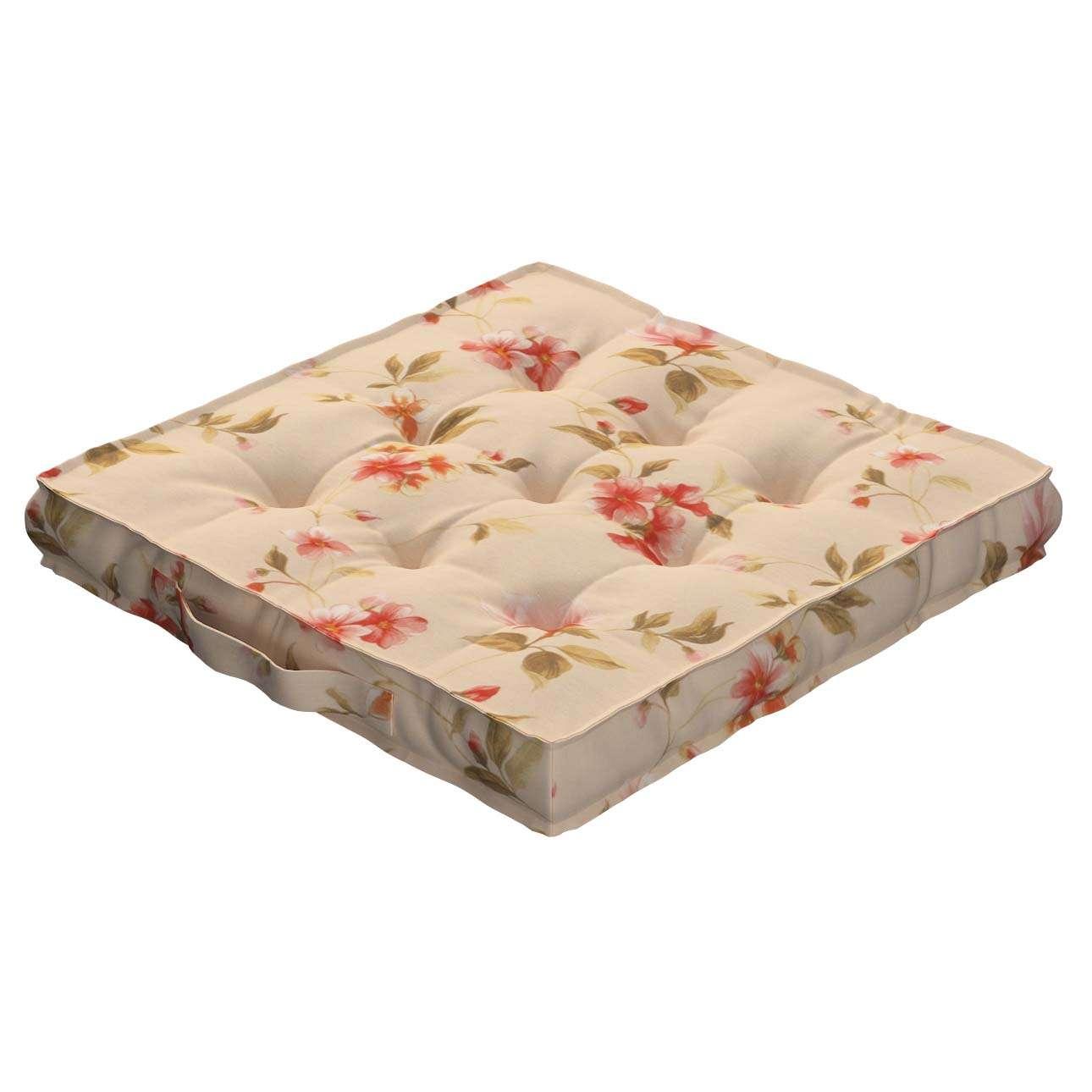 Siedzisko Kuba na krzesło 40x40x6cm w kolekcji Londres, tkanina: 124-05