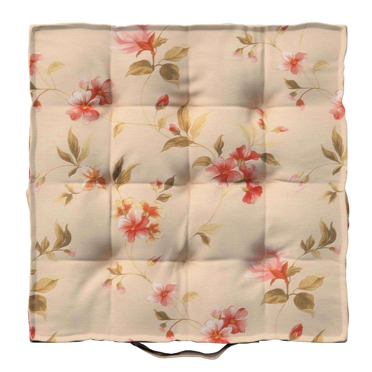 Pagalvėlė Kuba kėdei/ant grindų 40 x 40 x 6 cm kolekcijoje Londres, audinys: 124-05