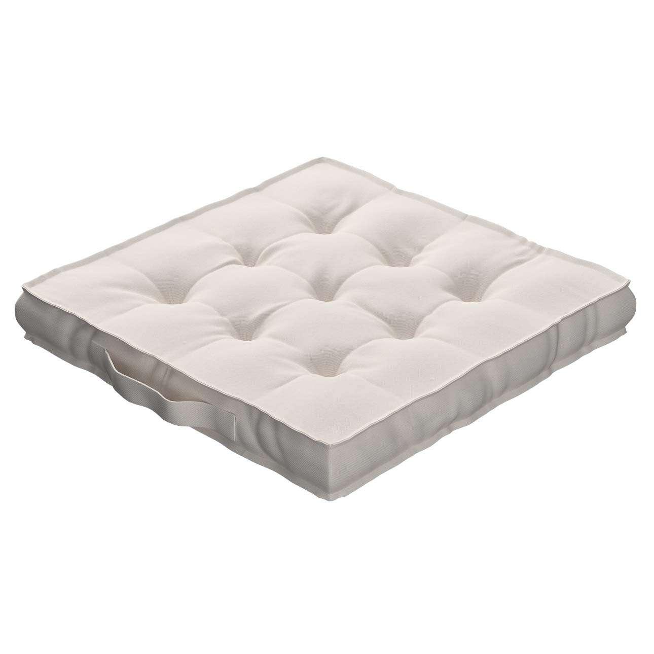 Pagalvėlė Kuba kėdei/ant grindų 40 x 40 x 6 cm kolekcijoje Etna , audinys: 705-01