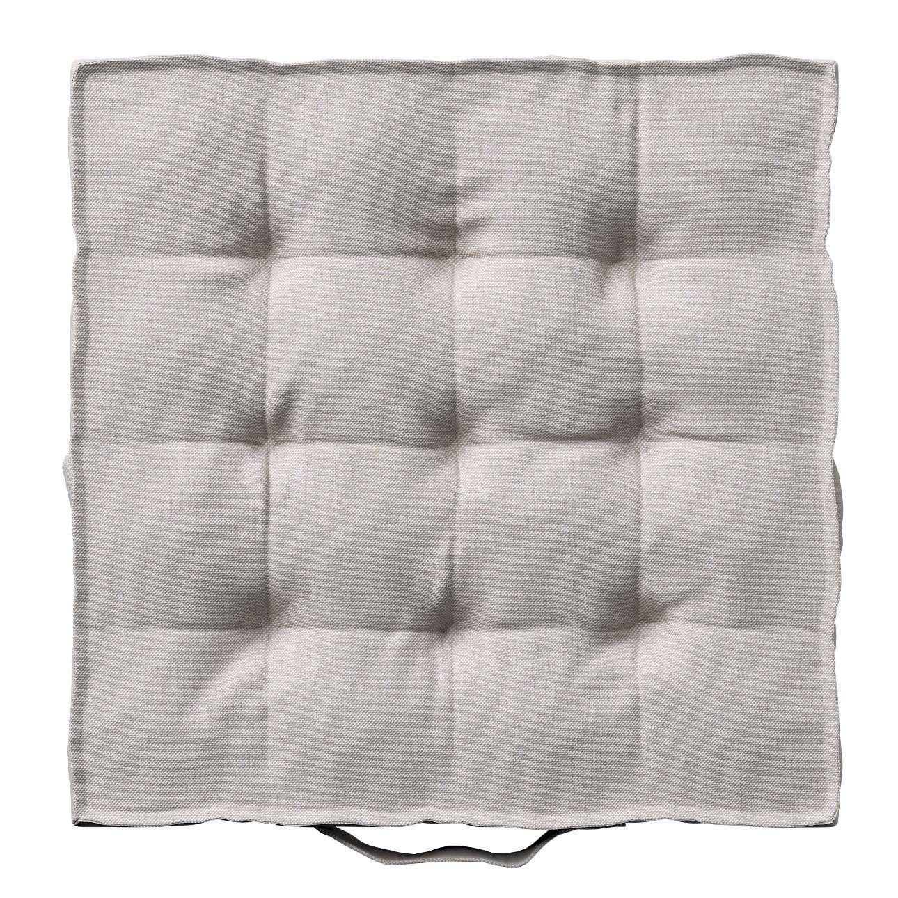 Pagalvėlė Kuba kėdei/ant grindų 40 x 40 x 6 cm kolekcijoje Etna , audinys: 705-90
