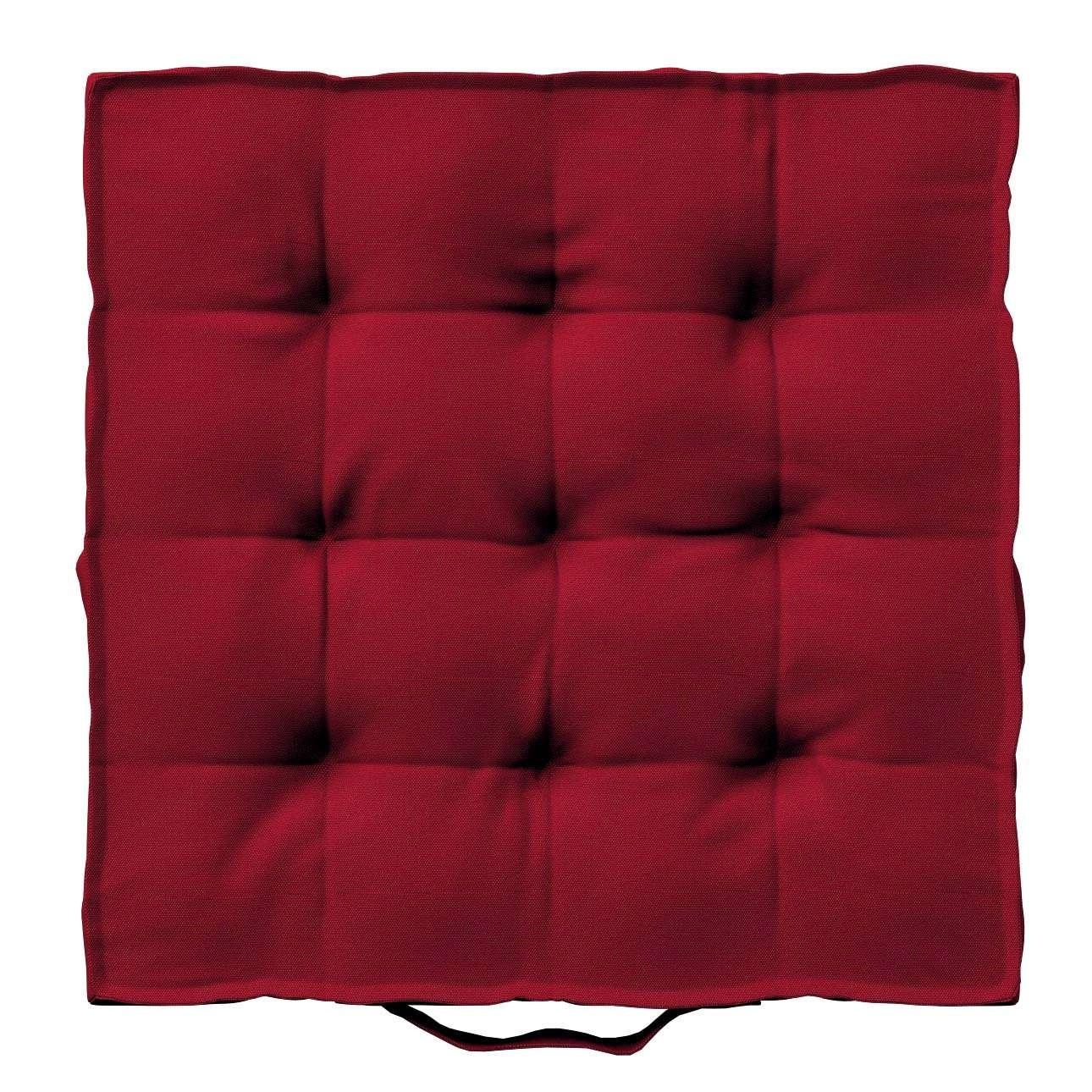 Pagalvėlė Kuba kėdei/ant grindų 40 x 40 x 6 cm kolekcijoje Etna , audinys: 705-60