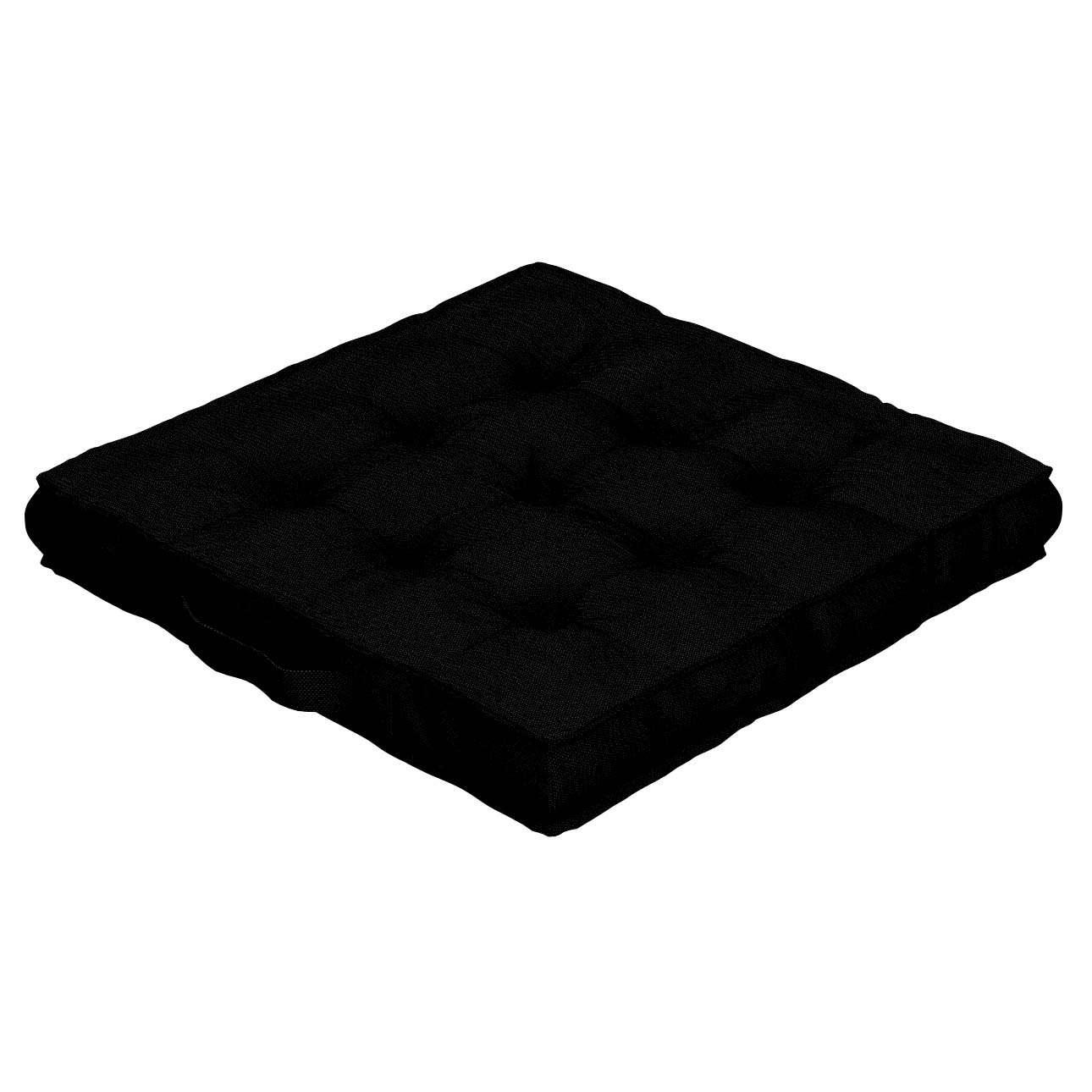 Pagalvėlė Kuba kėdei/ant grindų 40 x 40 x 6 cm kolekcijoje Etna , audinys: 705-00