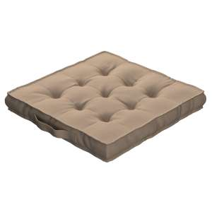 Pagalvėlė Kuba kėdei/ant grindų 40 x 40 x 6 cm kolekcijoje Cotton Panama, audinys: 702-28