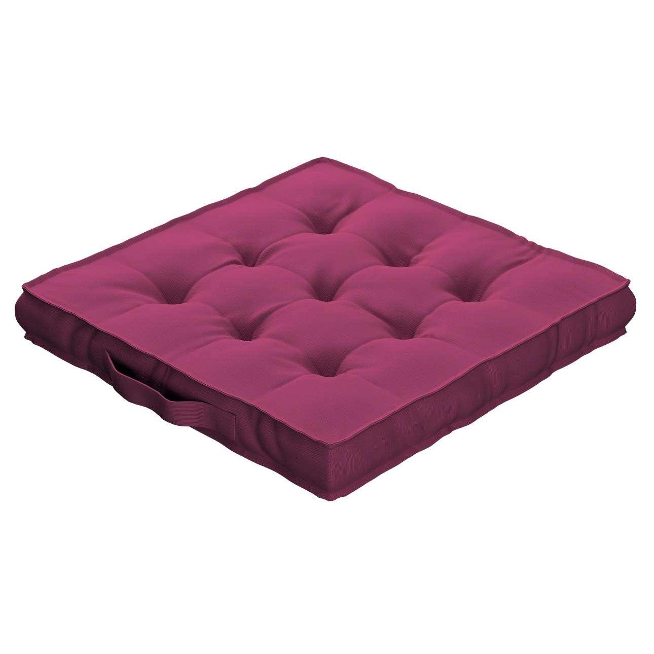 Siedzisko Kuba na krzesło w kolekcji Cotton Panama, tkanina: 702-32