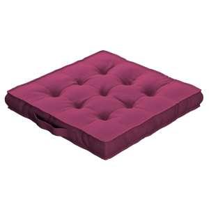 Sitzkissen Jacob mit Handgriff 40 x 40 x 6 cm von der Kollektion Cotton Panama, Stoff: 702-32