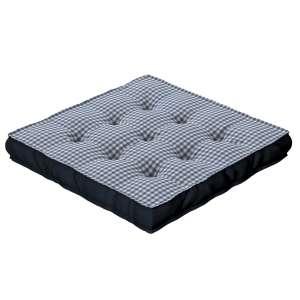 Sitzkissen Jacob mit Handgriff 40 x 40 x 6 cm von der Kollektion Quadro, Stoff: 136-00