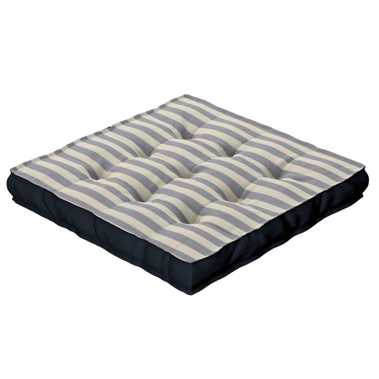 Pagalvėlė Kuba kėdei/ant grindų 40 x 40 x 6 cm kolekcijoje Quadro, audinys: 136-02