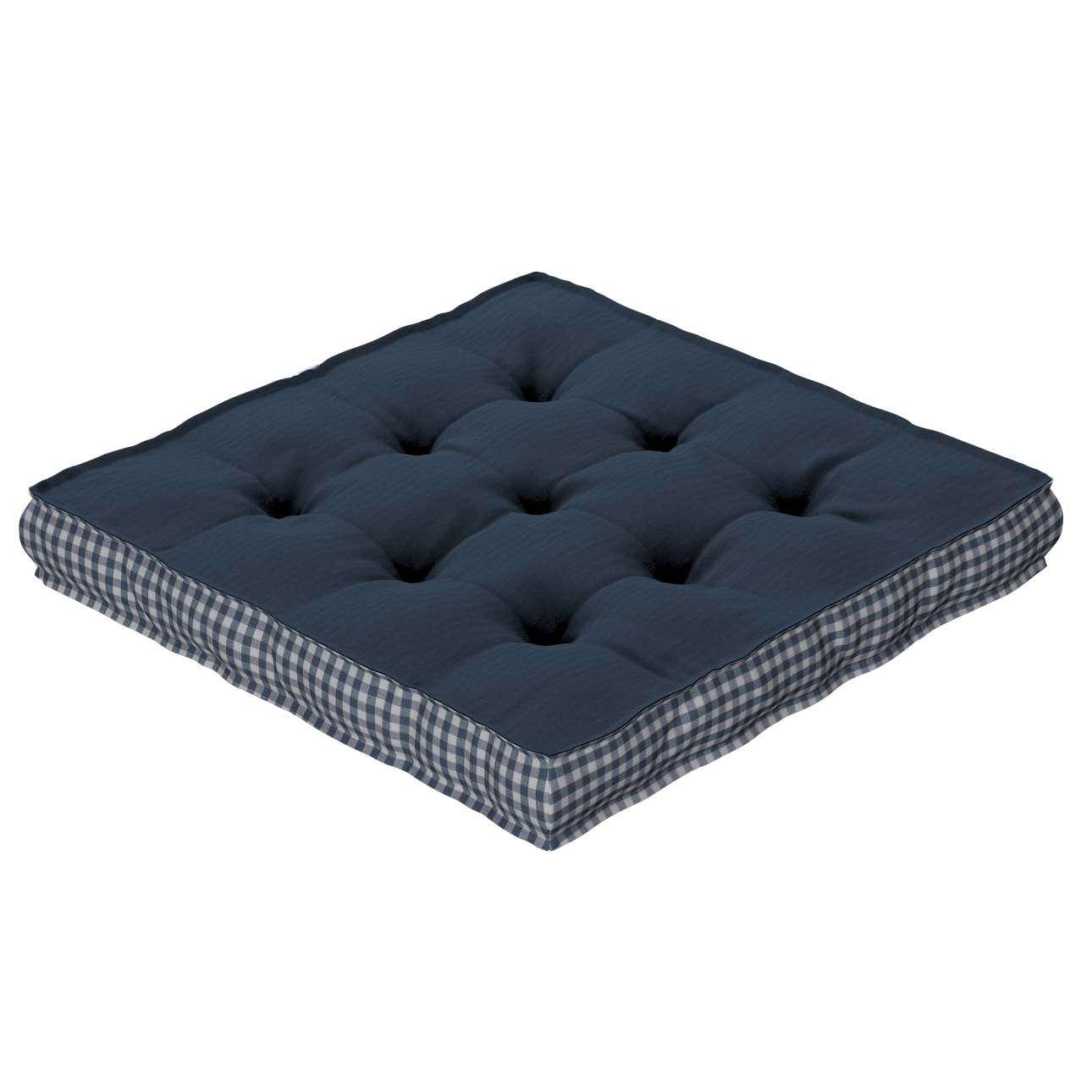 Pagalvėlė Kuba kėdei/ant grindų 40 x 40 x 6 cm kolekcijoje Quadro, audinys: 136-04