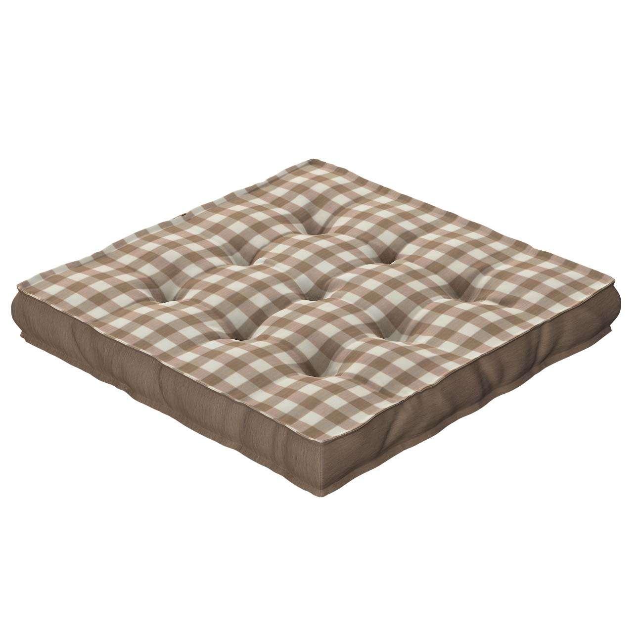 Siedzisko Kuba na krzesło 40x40x6cm w kolekcji Quadro, tkanina: 136-06