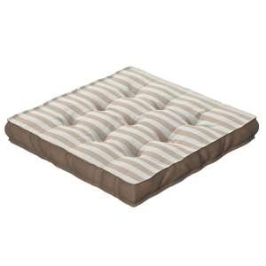 Sitzkissen Jacob mit Handgriff 40 x 40 x 6 cm von der Kollektion Quadro, Stoff: 136-07