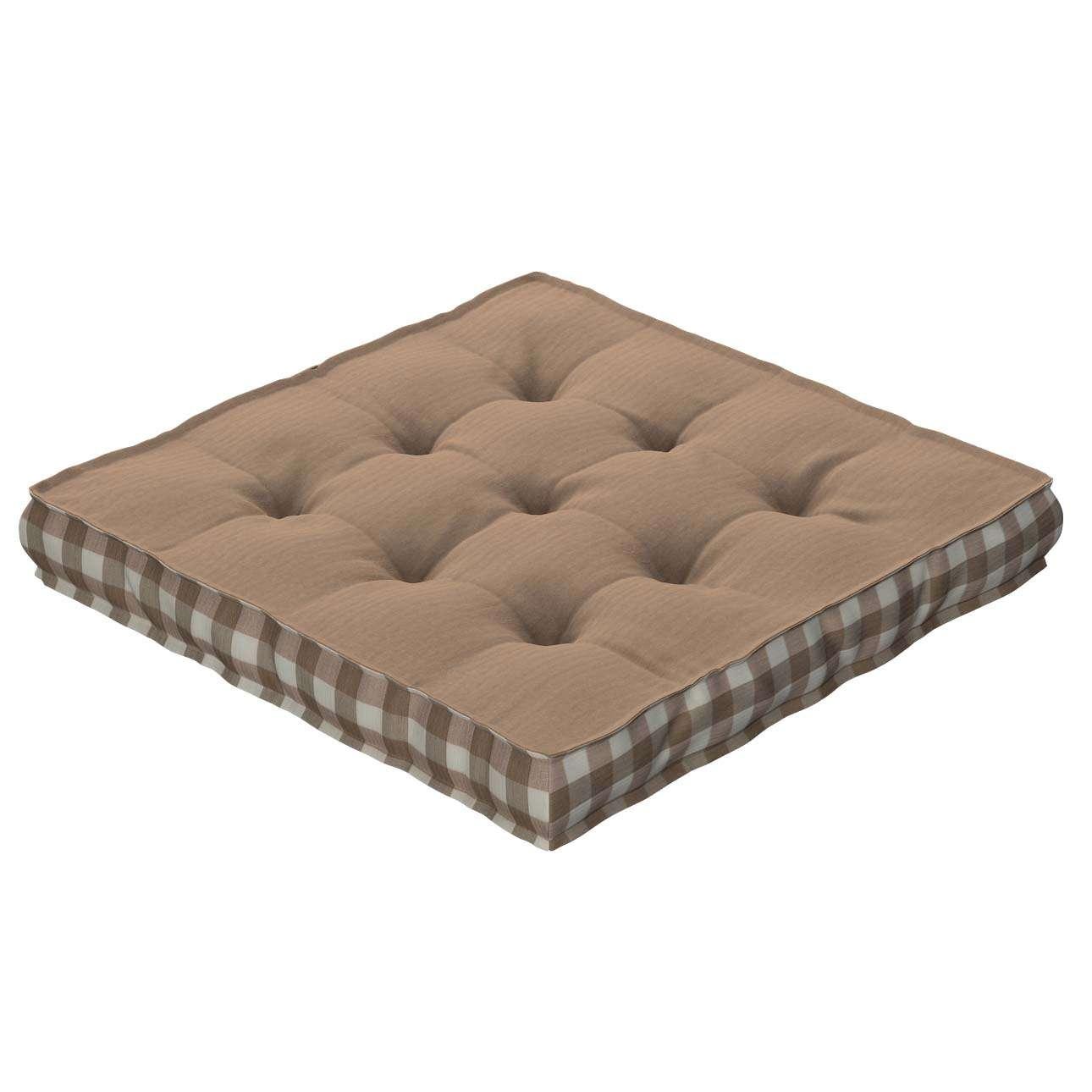 Siedzisko Kuba na krzesło 40x40x6cm w kolekcji Quadro, tkanina: 136-09