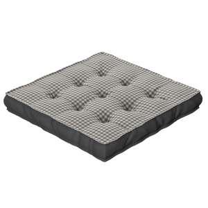 Pagalvėlė Kuba kėdei/ant grindų 40 x 40 x 6 cm kolekcijoje Quadro, audinys: 136-10