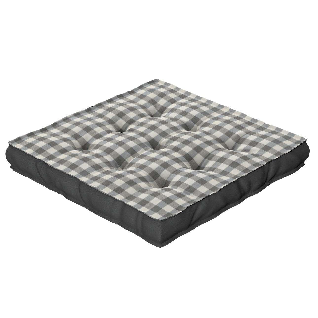 Siedzisko Kuba na krzesło 40x40x6cm w kolekcji Quadro, tkanina: 136-11